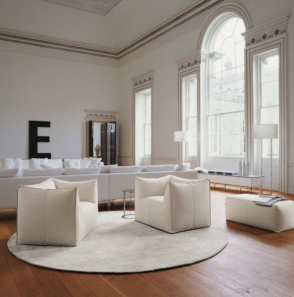 Contemporary furniture in a traditional space - Fancy & Campbell Watson