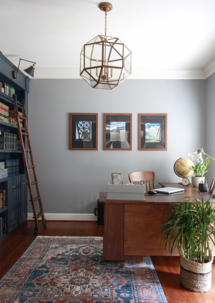 Leslie, of Deeply Southern Home, reveals her space for the One Room Challenge