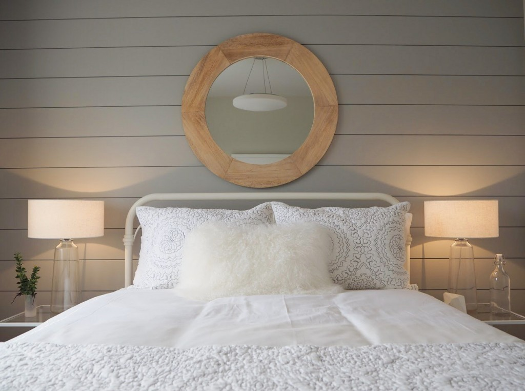A beautiful bedroom reveal, featuring Metrie's Option {M} Modern Farmhouse