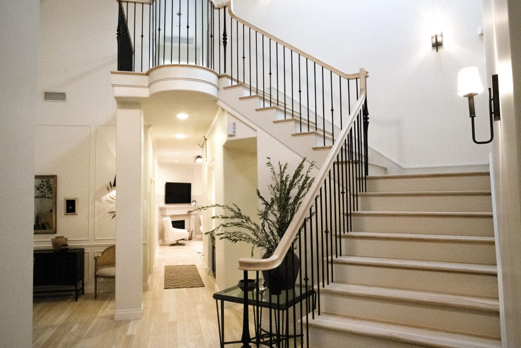 A gorgeous staircase design by Nate and Jeremiah