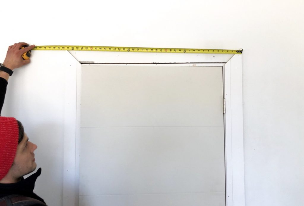 Install door casing with Ecnomus Construction Group